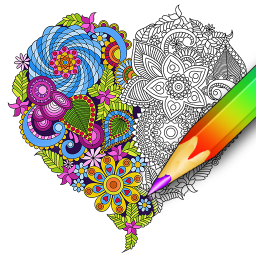 Coloring for adults – relaxing app - coloring book