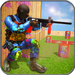 Paintball Wars: Color Shooting Battle Arena