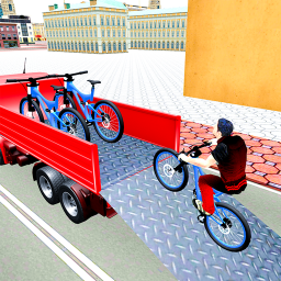 BMX Bicycle Transport Truck Simulator