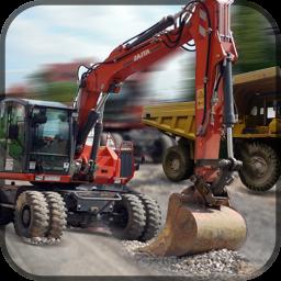 Road Building Vehicles Crew