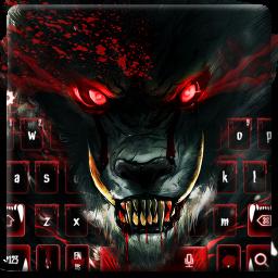 Blood Wolf Keyboard Theme