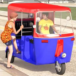 Modern Tuk Tuk Auto Rickshaw Driving: Auto Riksha