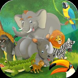 پازل کودکانه - حیوانات