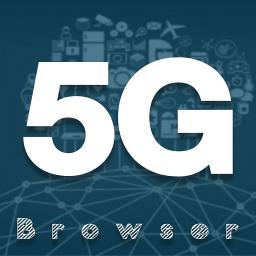 5G Browser HD: Light & Fast - Speed Up Internet