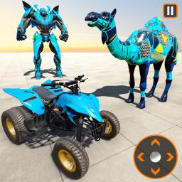 Camel Robot Transformation: ATV Quad Bike Robot