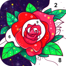Super Color - Paint by Number, Free Puzzle Game