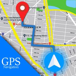 Voice GPS Driving Route : Gps Navigation & Maps