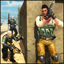 Real Commando Shoot Mission - Fun Shooting Games