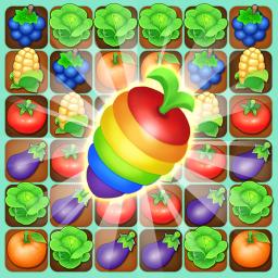 Farm Raid : Cartoon Match 3 Puzzle