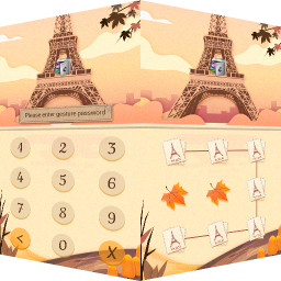 AppLock Theme Eiffel Tower