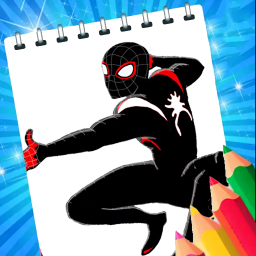 Coloring Book For Spider : Coloring game womаn