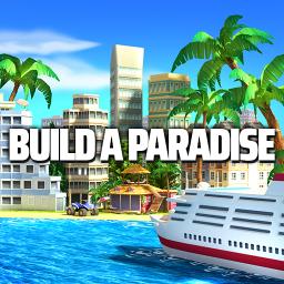 Tropic Paradise Sim: Town Building Game