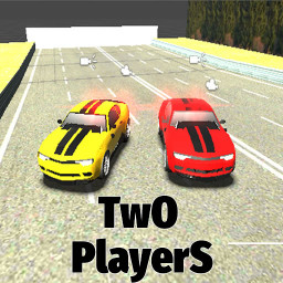 Two Player Racing 3D - 2 Player Car Race