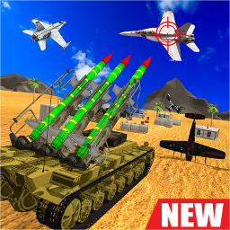 Aircraft Shooting Missile Strike-Free Action Game