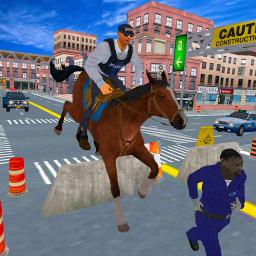 Police Horse Quest: Criminal Chase Crime City