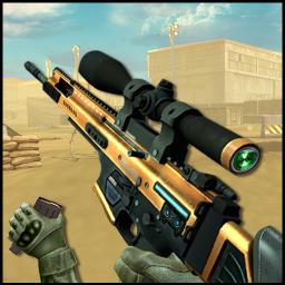 Desert Sniper Shooting - Free Shooting Games : FPS