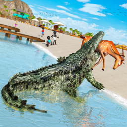 Angry Crocodile Attack Game
