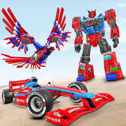 Falcon Robot Car Game – Formula Car Robot Games