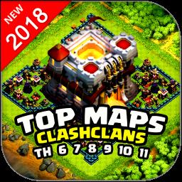 نقشه های شناور کلش اف کلنز 2018