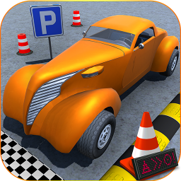 Classic Car Parking Challenge & Driving Test