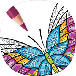 Adult Butterfly Coloring Pages