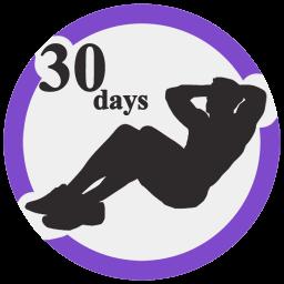 شکم شش تکه در ۳۰ روز