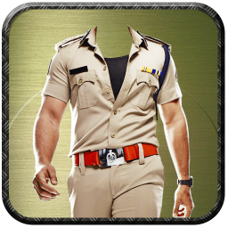 Police Suit Photo Frames - Picture & Image Editor