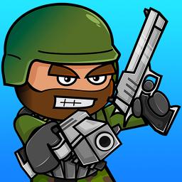 آیکون بازی Mini Militia - Doodle Army 2