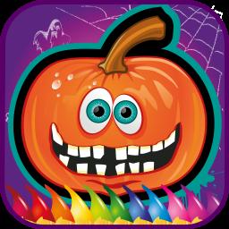 هالووین رنگ آمیزی