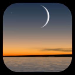 پس زمینه متحرک ماه