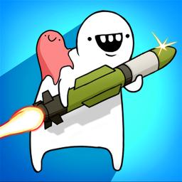 Missile Dude RPG: Offline tap tap hero