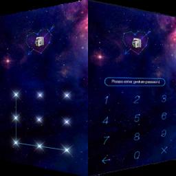 AppLock Theme Galaxy