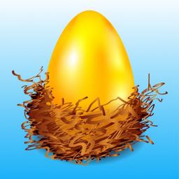 پرنده تخم مرغ طلایی