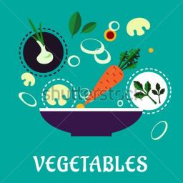 آشپزی با سبزیجات - 95 غذای سبز