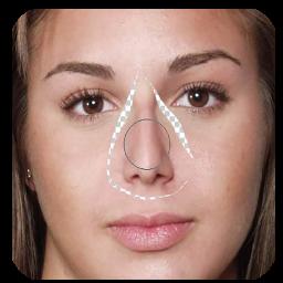 آموزش کوچک کردن بینی بدون عمل ویژه