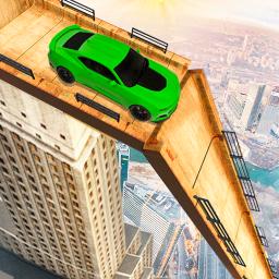 Mega Ramp Car Stunts Crazy Car