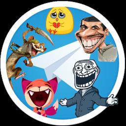 35،000 استیکر تلگرام (بزرگترین بانک استیکر تلگرام)