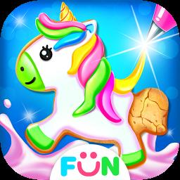 Unicorn Cookie Maker – Sweet Bakery Food Games
