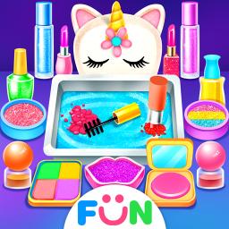 Unicorn Slime Makeup Kit - Fun Games for Girls