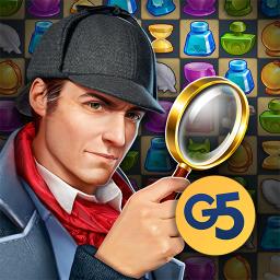 Sherlock:MysteryHiddenObjects& Match-3 Cases