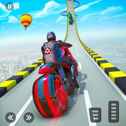 Light Bike Stunt GT Race Game