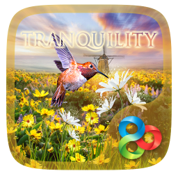 Tranquility Parallax Go Launcher Theme