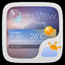 Glass View Theme GOWeather