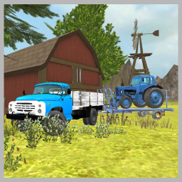 Classic Truck 3D: Tractor Transport