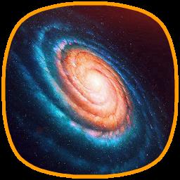 پس زمینه زنده کهکشان