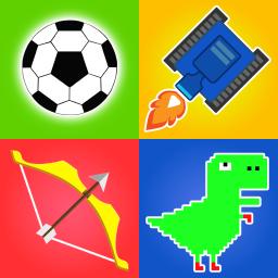 1 2 3 4 Player Games : Stickman 2 Player