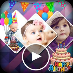 ساخت ویدیو جشن تولد