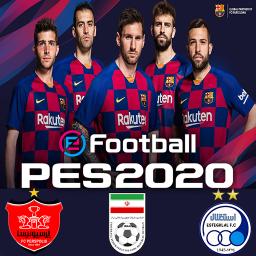 فوتبال PES 2020 (پرسپولیس/استقلال/منتخب کلاسیک)