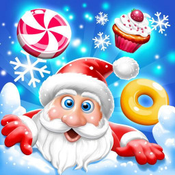 Candy World - Christmas Games