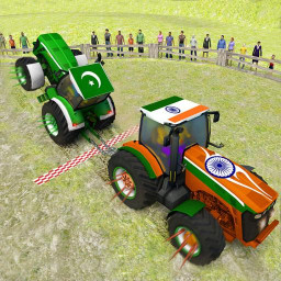 Pull Tractor Games: Tractor Driving Simulator 2019
